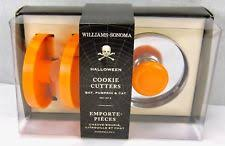 williams sonoma halloween cookie cutters ebay