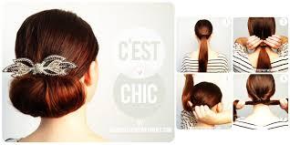 tutorial sirkam rambut panjang 6 gaya rambut untuk ke pesta pernikahan plus step by step vemale com