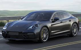 porsche panamera turbo 2017 black 3d model porsche panamera turbo 2017 cgtrader