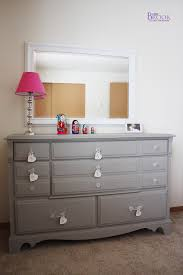 i love this grey dresser painted with annie sloan chalk paint