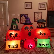 image gemmy prototype halloween trick or treat inflatable