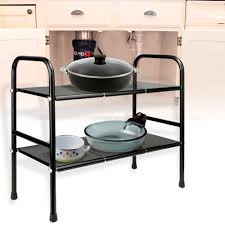 aliexpress com buy homdox 2 tier kichen shelf stainless steel