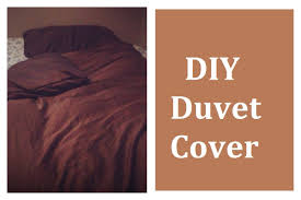 How To Make Duvet Covers Do It Yourself Easy Duvet Cover Video Tutorial Youtube