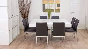 large square dining room table large square white oak dining table trendy glass legs modern chairs