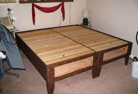 How To Make A Bed Bench Bed Great Platform Beds With Storage Drawers Amazing How To Make