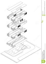 exploded isometric drawing 18272179 jpg 929 1300 floor map