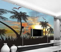 papier peint pour chambre coucher 3d papier peint pour chambre coucher du soleil vue sur la mer