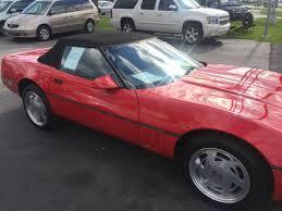 1989 corvette convertible 1989 chevrolet corvette convertible 6 777 original