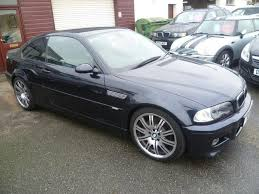 2004 bmw m3 coupe for sale used bmw m3 2004 manual petrol 2 door 3 3 black for sale uk