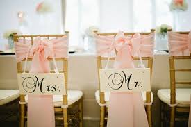 mr and mrs wedding signs wedding signs mr and mrs chair signs wedding photo props