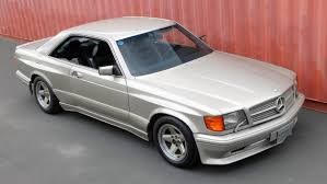 1986 mercedes 560 sec 1989 mercedes 560sec 6 0 amg symbolic international