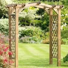 wedding arch ebay uk wooden garden arch contemporary wooden garden arch garden wood arch