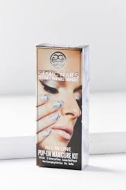 static nails all in one pop on manicure kit urban outfitters