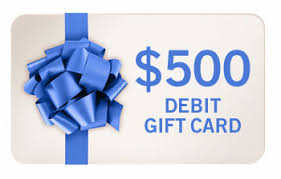 500 gift card reclipit 500 debit card giveaway