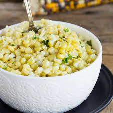 thanksgiving corn side dishes creamy baked corn with parmesan