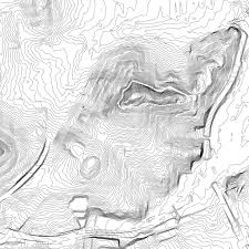 San Francisco Topographic Map by Bernal Hill Contour Map Maps Pinterest Cartography