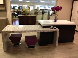 decorating eco friendly countertop by vetrazzo countertops for creative room decoration with vetrazzo countertops plus pretty purple stool and wooden floor