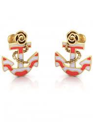 anchor earrings anchor earrings the house of diamonds