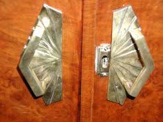 art deco cabinet pulls 2 5 8 inch overall 2 inch c c solid brass art deco pull polished