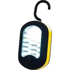 battery powered portable led work lights stalwart 27 led work light with magnet in back 72 wl72 the home depot