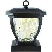 Outdoor Solar Lights On Sale by Solar Deck Lighting Outdoor Lighting The Home Depot