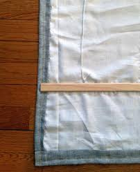 Make Roman Shades From Blinds Diy Roman Shades From Mini Blinds Revised Little Green Notebook