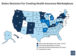 Dc State Map by Establishing Health Insurance Marketplaces An Overview Of State