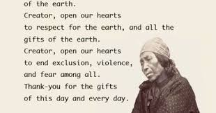 american thanksgiving prayer kmaq micmiac prayer fo
