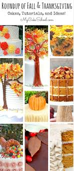 roundup of the best fall and thanksgiving cakes and recipes