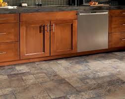 design tile laminate floors in kitchen wooden cabinet stainless