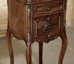 louis xv walnut nightstand inessa stewart u0027s antiques