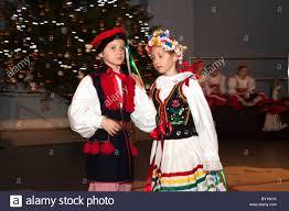 polish traditional costume stock photos u0026 polish traditional