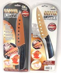kitchen knives that stay sharp 2x home innovations non stick copper chefs knife stays sharp