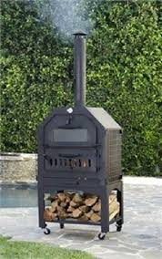 Chiminea With Pizza Oven Outdoor Pizza Oven Ebay