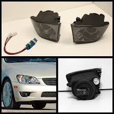lexus is300 hid bulb xenon 01 05 lexus is300 projector fog lights smoked