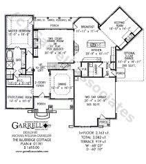 level house plans blueridge cottage house plan house plans by garrell associates inc