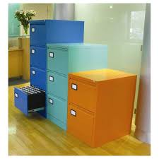 Orange Filing Cabinet Trilogy Filing Cabinets