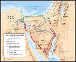Biblical Map Lion Tracks Photo Qna The Land Of Goshen In Egypt Pithom