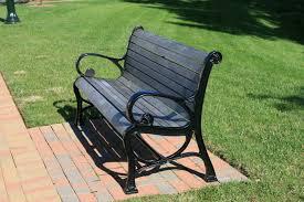 park bench photo files 1056444 freeimages com