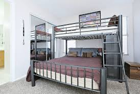 Double Bunk Beds Zachary Twin Over Double Bunk Bed With Universal - Double top bunk bed