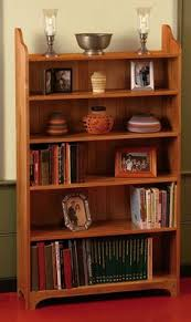 Wooden Bookcase Plans Free by Painted Bookcase Woodworking Plan By Jeff Branch Woodworking