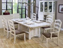 distressed dining room sets distressed dining room table and chairs simple with image of