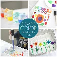 toddler approved 3 simple rainbow color activities for kids