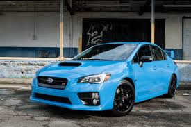 subaru sti 2016 subaru wrx sti series hyperblue review photo gallery news