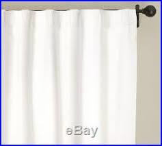 Ebay Pottery Barn Drapes Pottery Barn Emery Linen Cotton Drapes 2 100 X 96 White