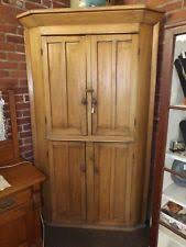 antique corner cupboard ebay