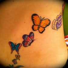 beautiful butterfly tattoo 2 butterfly shoulder tattoo on