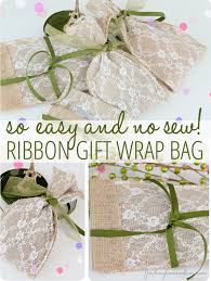 gift wrap bags gift wrapping ideas no sew diy gift bag finding home farms