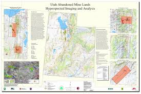 Map Of Utah by Usgs Usepa Utah Imaging Spectroscopy Project