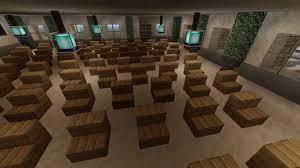 Minecraft Interior Design Minecraft City Hall Interior Showcase Youtube